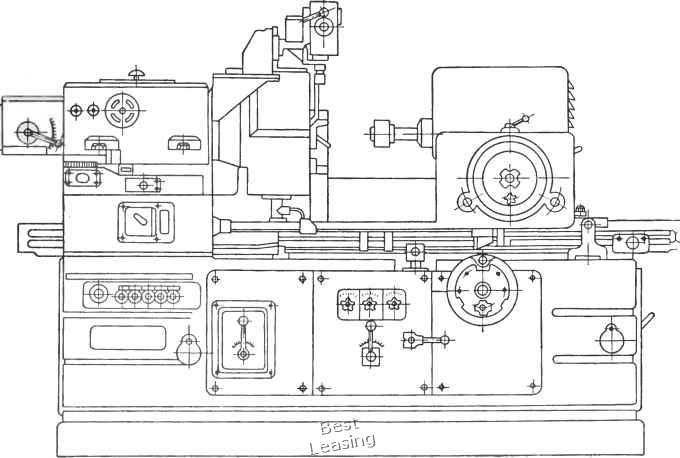 станка модели ЗА252